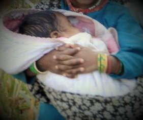 Pramila's baby